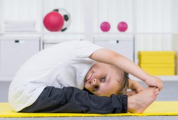 子供の柔軟性
